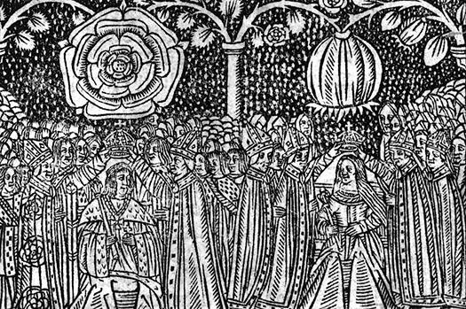 Henry VIII & Catherine of Aragon coronation