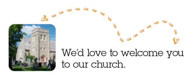 We'd love to welcome you to our church