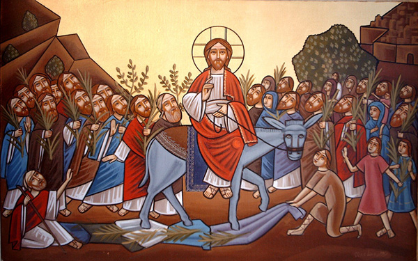 Palm Sunday, icon