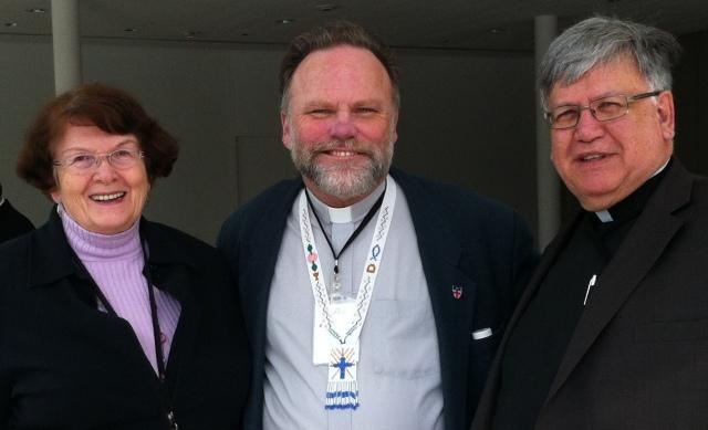 Jan Osborne, Dean Paul N. Johnson, Dean Emeritus Bob Osborne - Toronto, April 2013