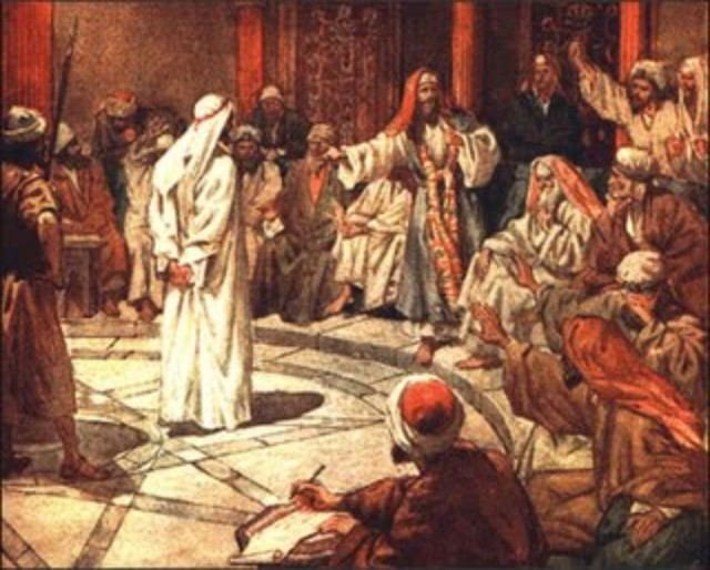 Peter before the Sanhedrin