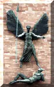 Saint-Michaels-victory-over-the-devil-sir-jacob-epstein, Coventry Cathedral