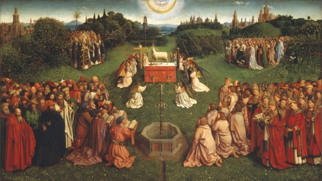 Lamb of God - Jan van Eyck, the Adoration of the Lamb