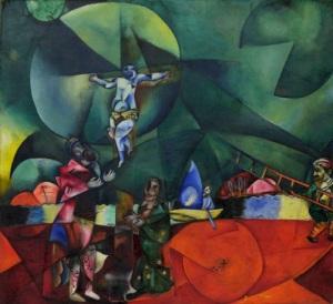 Crucifixion-Marc_Chagall,_1912,_Calvary_(Golgotha)_Christus_gewidmet,_oil_on_canvas,_174.6_x_192.4_cm,_Museum_of_Modern_Art,_New_York
