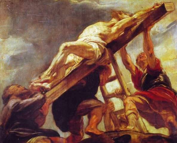 Crucifixion-Raising_of_the_Cross_Peter_Paul_Rubens_Louvre