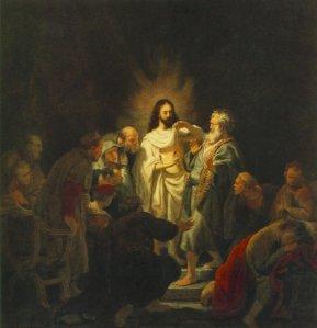 Thomas, doubts, Rembrandt