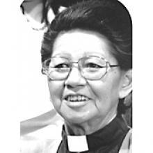 Phyllis Keeper, priest