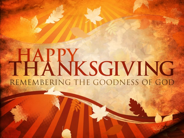 Thanksgiving-God's goodness
