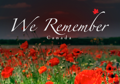 Remembrance, Canada - We Remember