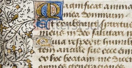 Magnificat, illuminated manuscript-2