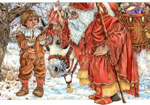 Saint Nicholas and gift giving in Europe