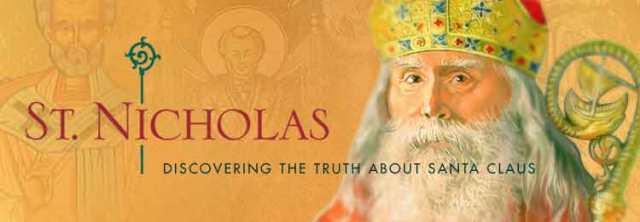 Saint Nicholas, the truth about Santa - banner