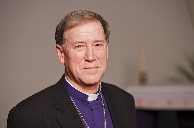 Archbishop Fred Hiltz, Primate, The Anglican Church of Canada. Mississauga, ON, Canada.