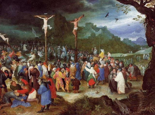 Crucifixion, Jan Brueghel