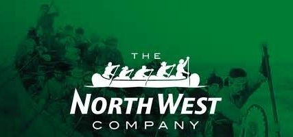 Flag, North West Company, green with canoe (2)